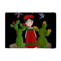 Frida Kahlo Doll Apple Ipad Mini Flip Case by Valentinaart
