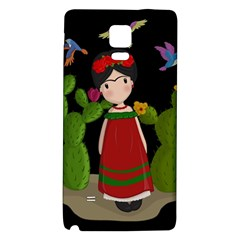 Frida Kahlo Doll Galaxy Note 4 Back Case by Valentinaart
