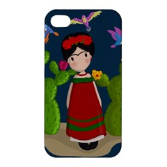 Frida Kahlo Doll Apple Iphone 4/4s Hardshell Case by Valentinaart