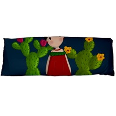 Frida Kahlo Doll Body Pillow Case Dakimakura (two Sides) by Valentinaart