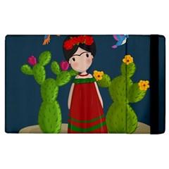 Frida Kahlo Doll Apple Ipad 3/4 Flip Case by Valentinaart
