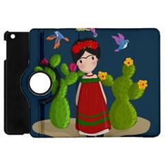 Frida Kahlo Doll Apple Ipad Mini Flip 360 Case by Valentinaart