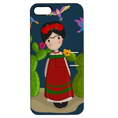 Frida Kahlo Doll Apple Iphone 5 Hardshell Case With Stand by Valentinaart