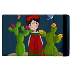 Frida Kahlo Doll Apple Ipad Pro 12 9   Flip Case by Valentinaart