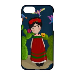 Frida Kahlo Doll Apple Iphone 8 Hardshell Case by Valentinaart