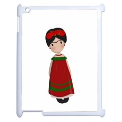 Frida Kahlo Doll Apple Ipad 2 Case (white) by Valentinaart