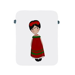 Frida Kahlo Doll Apple Ipad 2/3/4 Protective Soft Cases by Valentinaart