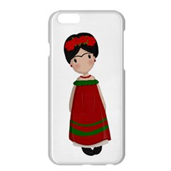 Frida Kahlo Doll Apple Iphone 6 Plus/6s Plus Hardshell Case by Valentinaart