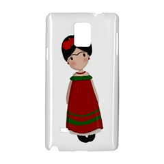 Frida Kahlo Doll Samsung Galaxy Note 4 Hardshell Case by Valentinaart