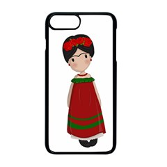 Frida Kahlo Doll Apple Iphone 7 Plus Seamless Case (black) by Valentinaart