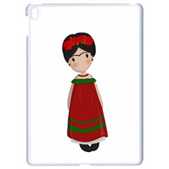 Frida Kahlo Doll Apple Ipad Pro 9 7   White Seamless Case by Valentinaart