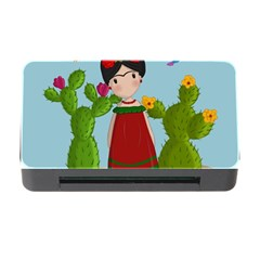 Frida Kahlo Doll Memory Card Reader With Cf by Valentinaart