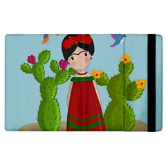 Frida Kahlo Doll Apple Ipad 3/4 Flip Case by Valentinaart