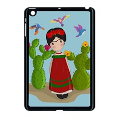 Frida Kahlo Doll Apple Ipad Mini Case (black) by Valentinaart