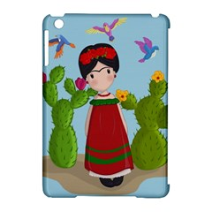 Frida Kahlo Doll Apple Ipad Mini Hardshell Case (compatible With Smart Cover) by Valentinaart