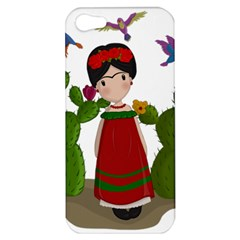 Frida Kahlo Doll Apple Iphone 5 Hardshell Case by Valentinaart