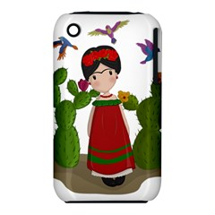Frida Kahlo Doll Iphone 3s/3gs by Valentinaart