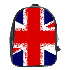 Union Jack London Flag Uk School Bag (large)