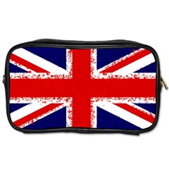 Union Jack London Flag Uk Toiletries Bags 2 Side by Celenk