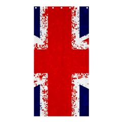 Union Jack London Flag Uk Shower Curtain 36  X 72  (stall)  by Celenk