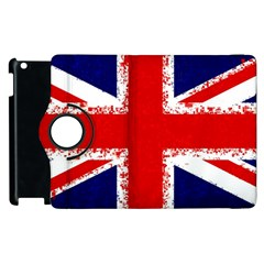 Union Jack London Flag Uk Apple Ipad 2 Flip 360 Case by Celenk