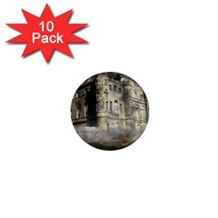Castle Ruin Attack Destruction 1  Mini Magnet (10 Pack)  by Celenk