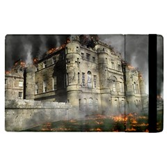 Castle Ruin Attack Destruction Apple Ipad Pro 9 7   Flip Case by Celenk