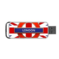 London England Portable Usb Flash (one Side)
