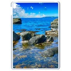 Shoreline Sea Coast Beach Ocean Apple Ipad Pro 9 7   White Seamless Case