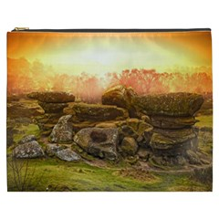 Rocks Outcrop Landscape Formation Cosmetic Bag (xxxl)  by Celenk