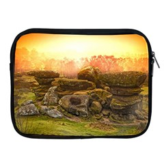 Rocks Outcrop Landscape Formation Apple Ipad 2/3/4 Zipper Cases by Celenk