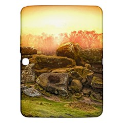 Rocks Outcrop Landscape Formation Samsung Galaxy Tab 3 (10 1 ) P5200 Hardshell Case  by Celenk