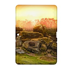 Rocks Outcrop Landscape Formation Samsung Galaxy Tab 2 (10 1 ) P5100 Hardshell Case  by Celenk