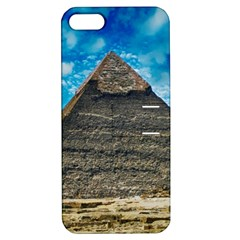 Pyramid Egypt Ancient Giza Apple Iphone 5 Hardshell Case With Stand by Celenk