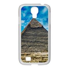 Pyramid Egypt Ancient Giza Samsung Galaxy S4 I9500/ I9505 Case (white) by Celenk