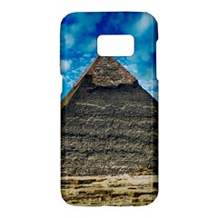 Pyramid Egypt Ancient Giza Samsung Galaxy S7 Hardshell Case  by Celenk