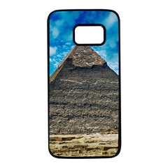 Pyramid Egypt Ancient Giza Samsung Galaxy S7 Black Seamless Case by Celenk