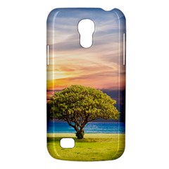 Tree Sea Grass Nature Ocean Galaxy S4 Mini by Celenk
