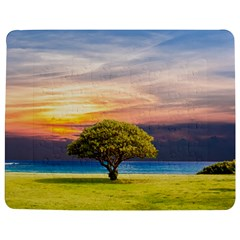 Tree Sea Grass Nature Ocean Jigsaw Puzzle Photo Stand (rectangular) by Celenk
