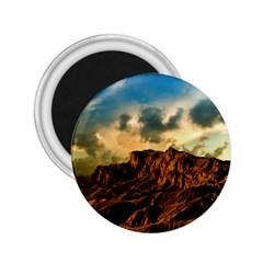 Mountain Sky Landscape Nature 2 25  Magnets by Celenk