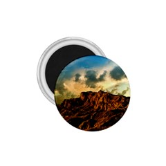 Mountain Sky Landscape Nature 1 75  Magnets by Celenk