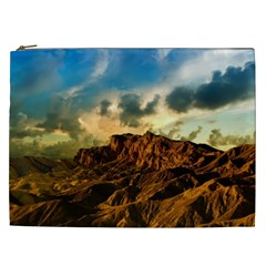 Mountain Sky Landscape Nature Cosmetic Bag (xxl)  by Celenk