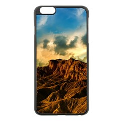 Mountain Sky Landscape Nature Apple Iphone 6 Plus/6s Plus Black Enamel Case by Celenk