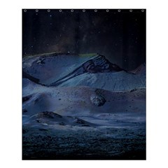 Landscape Night Lunar Sky Scene Shower Curtain 60  X 72  (medium)  by Celenk