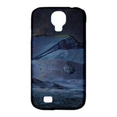Landscape Night Lunar Sky Scene Samsung Galaxy S4 Classic Hardshell Case (pc+silicone) by Celenk