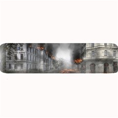 Armageddon Destruction Apocalypse Large Bar Mats by Celenk