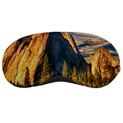 Mountains Landscape Rock Forest Sleeping Masks by Celenk