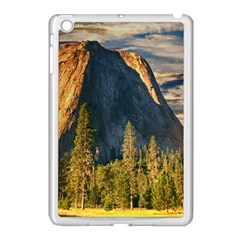 Mountains Landscape Rock Forest Apple Ipad Mini Case (white) by Celenk