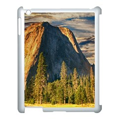 Mountains Landscape Rock Forest Apple Ipad 3/4 Case (white) by Celenk