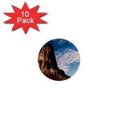 Mountain Desert Landscape Nature 1  Mini Buttons (10 Pack)  by Celenk
